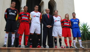 Camisetas Sevilla Champions