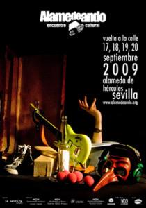 cartel alamedeando 2009