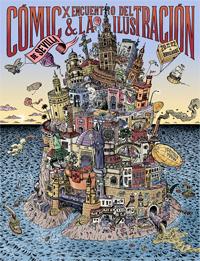 cartel X Encuentro Comic Sevilla