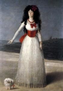 Duquesa de Alba Goya