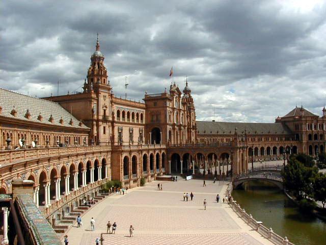 Plaza de España de la capital sevillana