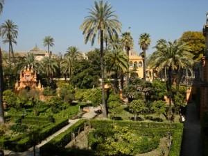 Real Alcázar de Sevilla. Jardines