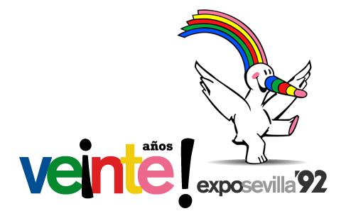 Logo XX Aniversario Expo Sevilla 1992