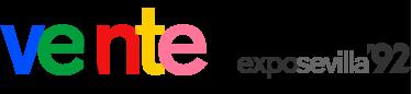 Logotipo creado para el XX Aniversario de la Exposición Universal de Sevilla