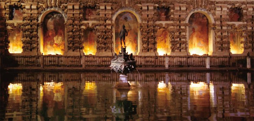 iluminación monumento